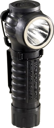 Streamlight 88830 PolyTac 90 LED Right Angle Polymer Flashlight, Black