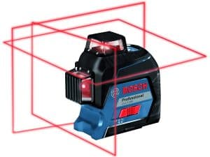Bosch GLL 3-300 360⁰ Three-Plane Leveling and Alignment-Line Laser
