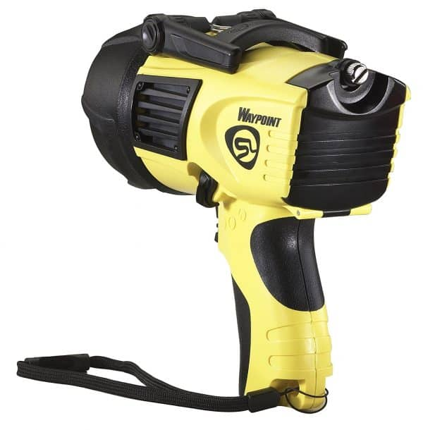 Streamlight 44910 Waypoint 1000-Lumens Spotlight with 120-Volt AC Charger, Yellow
