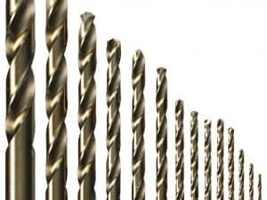 14 pc. Cobalt Metal Drill Bit Set