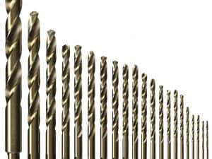 21 pc. Cobalt Metal Drill Bit Set
