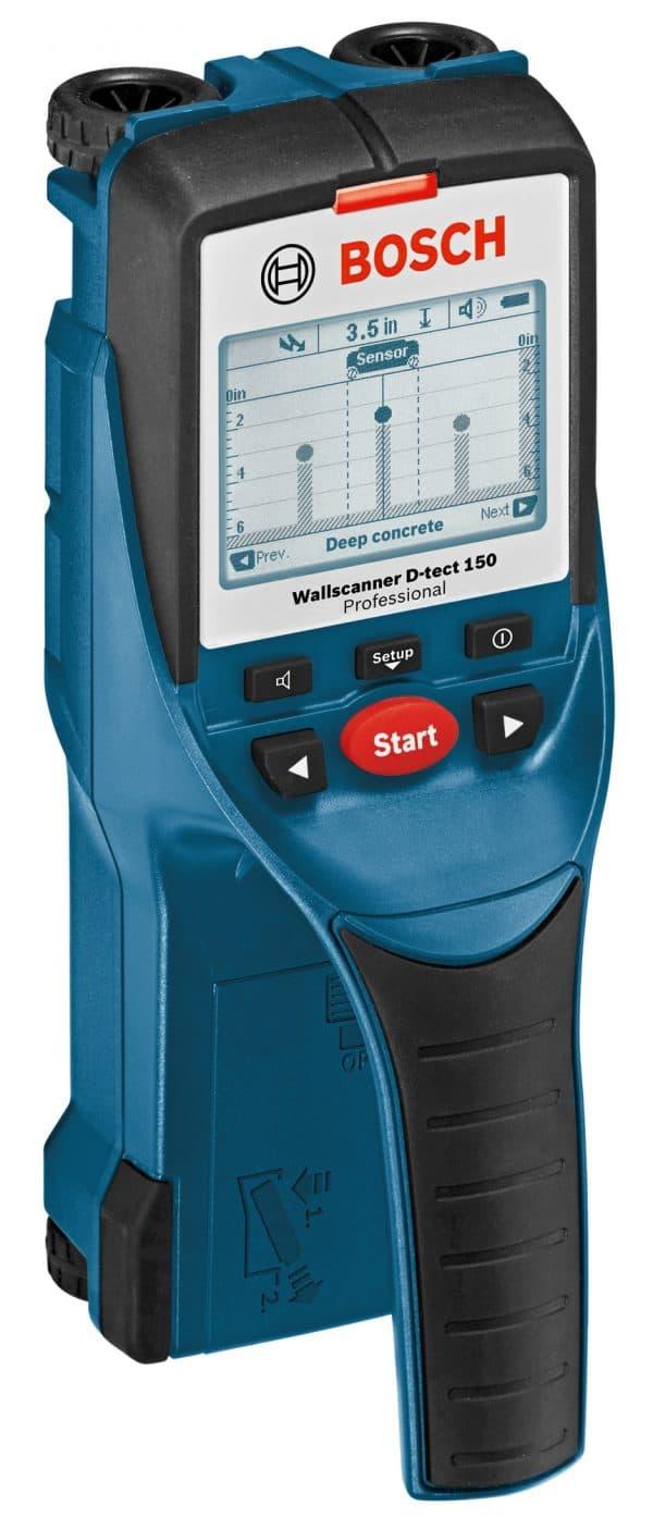 Bosch D-tect150 - Wall/Floor Scanner with Ultra Wide Band Radar Technology
