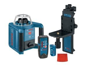Bosch GRL300HVD - Rotary Laser with Receiver Kit