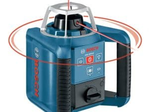 Bosch GRL300HV - Self-Leveling Rotary Laser with Layout Beam
