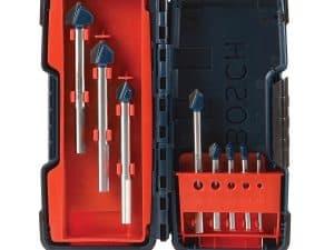 Bosch GT3000 - 8 Piece Glass and Tile Bit Set
