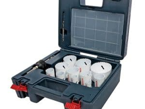 Bosch HB25M - 25 Piece Master Bi-Metal Hole Saw Set