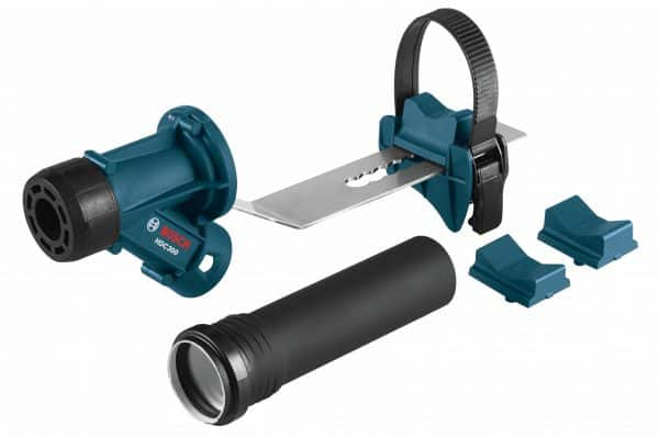 SDS-max® and Spline Dust-Collection Attachment