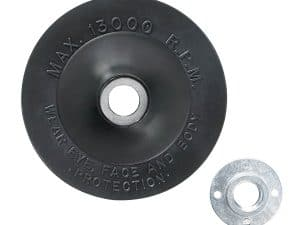 Bosch MG0450 - Rubber Backing Pad with Lock Nut