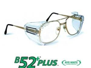 FBAB52+ 1 PR B52+ Side Shields Wing Mate Pair Eye Glasses Protector safety