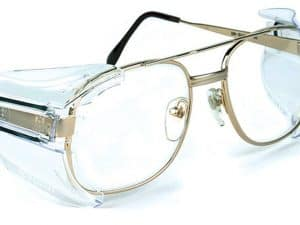 B52 Clear Safety Glasses Side Shields for Medium to Large Glasses (3 Pair)