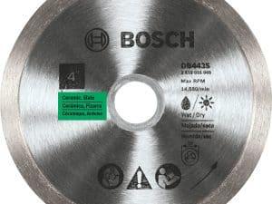 Bosch DB443S 4-Inch Continuous Rim Diamond Blade