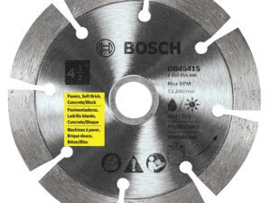 Bosch DB4541S 4-1/2-Inch Segmented Rim Diamond Blade