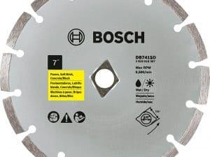 Bosch DB741SD 7-Inch Segmented Rim Diamond Blade (with Dko)