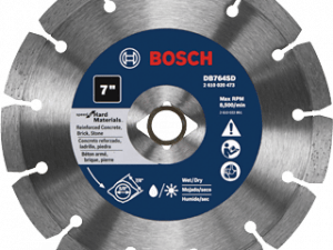 Bosch DB764SD 7 In. Standard Segmented Rim Diamond Blade with DKO for Hard Materials