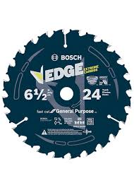 Bosch DCB624 6-1/2 In. 24 Tooth Edge Circular Saw Blade for General Purpose