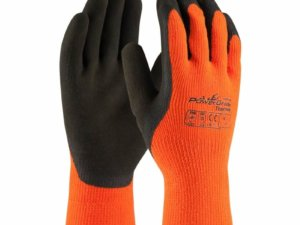 41-1400 PIP 41-1400 Powergrab Thermo Orange Shell/Brown Grip Glove (1 Pair)