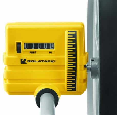 12 In. Measuring Wheel with Paint Marker