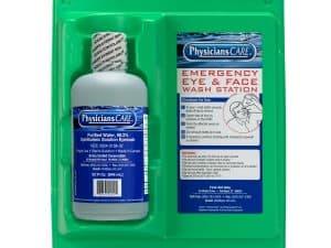 Eyewash Station, Single 32 Oz. Screw Cap Bottle