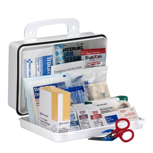 25 Person Contractor First Aid Kit, ANSI Compliant