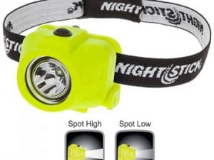 Intrinsically Safe Dual-Function Headlamp