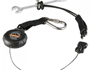 Squids® 3001 Retractable Single Carabiner w Loop End - 2lbs