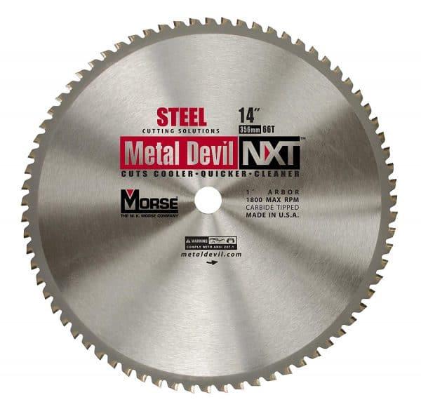 Morse 14X1   METAL DEVIL NXT   CIRCULAR  SAW BLADE