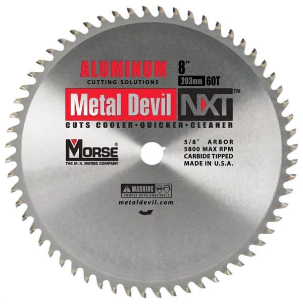Morse 8X5/8   METAL DEVIL NXT   CIRCULAR  SAW BLADE