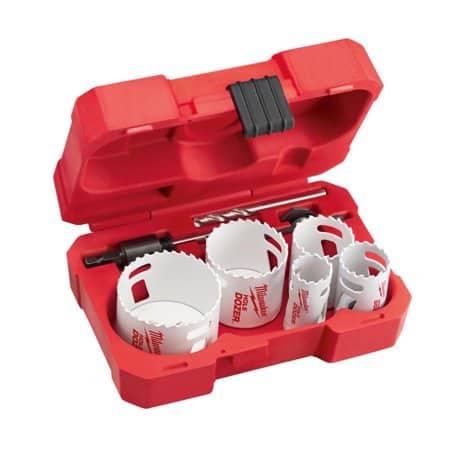Morse 8PC HIGH PERFORMANCE BI-METAL ELECTRICIAN HOLE SAW KIT MADE IN USA