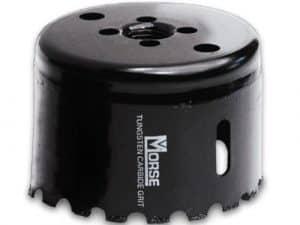 Morse 4   CARBIDE GRIT   HOLE SAW