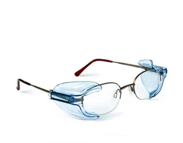 B26 Wing Mate Safety Glasses Side Shields- Fits Small to Medium Eyeglasses (3 Pair)