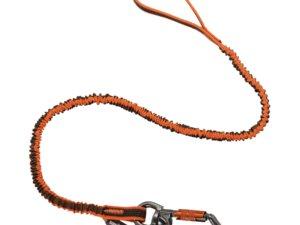 Squids® 3109F(x) Dbl-Locking Single Carabiner Tool Lanyard with Swivel - 25lbs